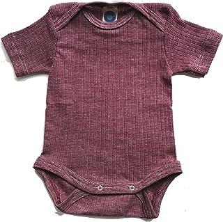 Cosilana Baby Body Kurzarm, 45% KBA Baumwolle, 35% kbT Wolle, 20% Seide