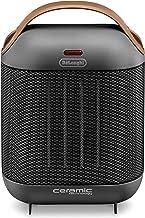 De'Longhi HFX30C18.IW Keramisch verwarmingstoestel, mobiele verwarming voor snelle en gerichte warmtevoorziening, 2 stande...