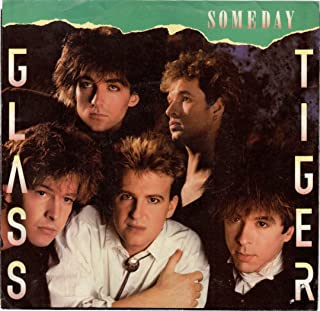 GLASS TIGER / Someday / 45rpm record + picture sleeve