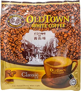 OLD TOWN 3 in 1 Classic White Coffee, 21.2 Ounce