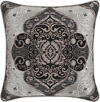 The Pillow Collection Kirrily Damask Bedding Sham Shadow Queen//20 x 30
