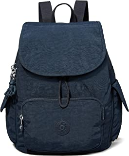 Kipling City Pack S, BACKPACKS para Mujer, azul, 19x27x33.5 cm (LxWxH)