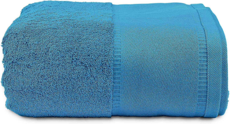 Elaine Karen Deluxe Luxury Plush Oversized White Terry Bath Towel 34 x 70 Inch 4pk