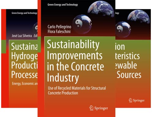 Green Energy and Technology (151-200) (50 Book Series)