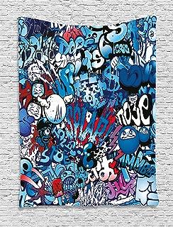 Best graffiti living room design Reviews