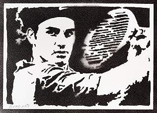 Poster Roger Federer Handmade Graffiti Street Art - Artwork