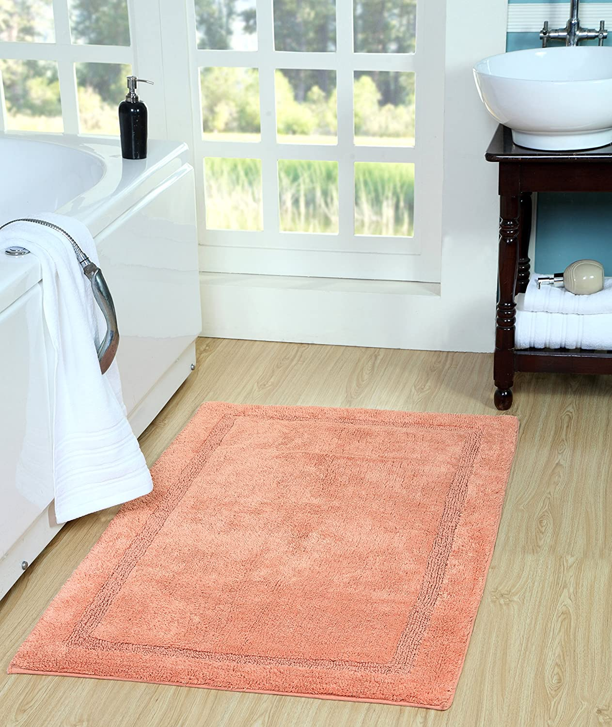 Saffron All stores are sold Fabs 100% quality warranty Regency Bath Rug 30