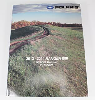 Polaris 9924875 2013 2014 Ranger 800 XP HD 6x6 Crew Service Manual