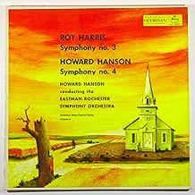 Roy Harris: Symphony No. 3 / Howard Hanson: Symphony No. 4