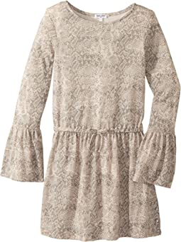 Splendid Littles - Python Print Loose Knit Dress (Big Kids)