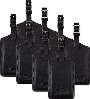 Best black luggage tags bulk Reviews
