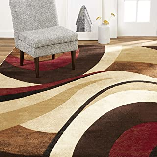 Best red brown area rug Reviews