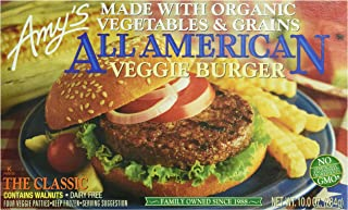 Amy's Meat Alternatives, All American Veggie Burger, 4 Count (Frozen)
