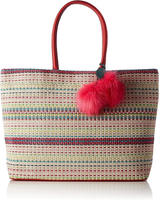 ESPRIT 067ea1o031, Women's Handbag, Beige (Cream Beige), 12x33x41.5 cm (wxhxd)