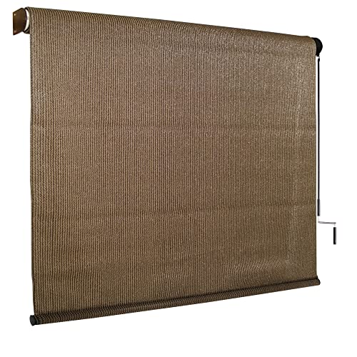 Beau Coolaroo Exterior Roller Shade, Cordless Roller Shade With 90% UV  Protection, No Valance