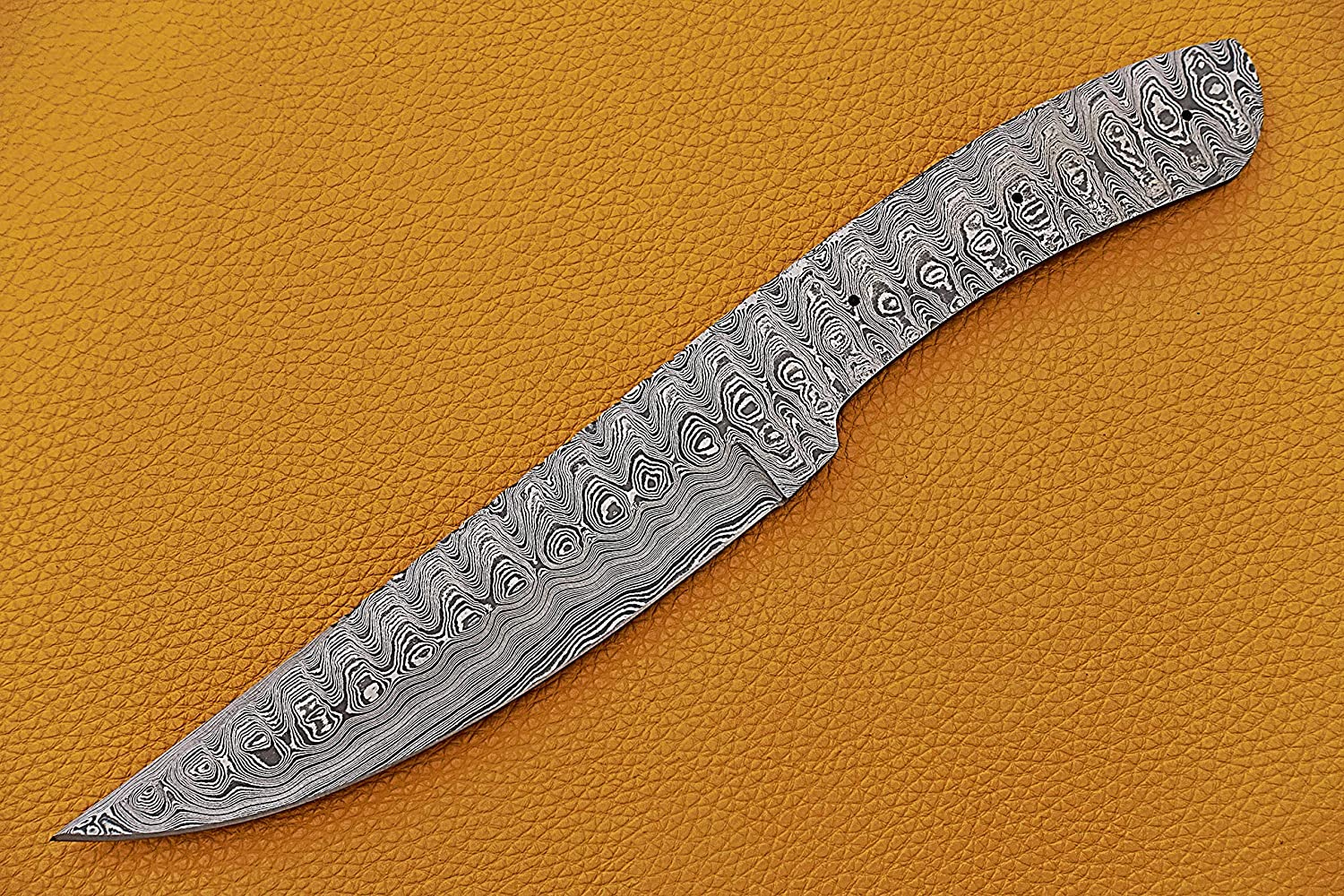 Knife Making Damascus Steel Blank Blade inches Award-winning store Rapid rise 11 For Hand Long