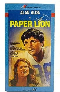 Paper Lion VHS