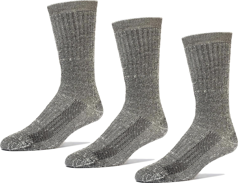 Merino Wool Socks Men's And Women's Hiking Thermal Insulated Warm Boot Outdoor Socks 3 Pairs