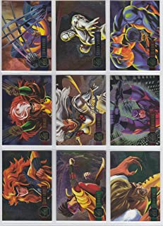 1995 Marvel Flair Annual POWERBLAST Insert Set of 24 Cards NM/M X-Men, Spider-Man