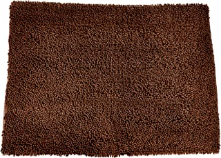 """Soggy Doggy Doormat - Plain - """"No Bone"""" Dog Doormat Dirty Wet Dog Absorbent Non Slip Machine Washable and Dryer Friendly"""