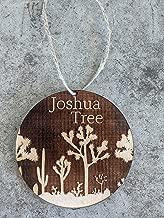 Succulent Joshua Tree Desert Yucca Cactus Boho Ornament. Joshua Tree Souvenir. Joshua Tree Gift.