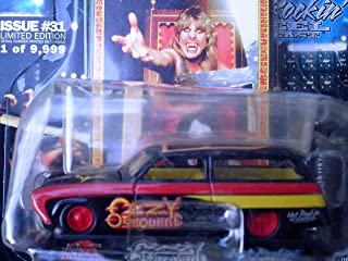 Ozzy Osbourne Studebaker Wagon Signature Superstar Edition 1:64 scale die-cast by Racing Champions with openable hood and rubber tires