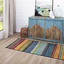 Mohawk Home Rainbow Multicolor New Wave Area Rug (2' x 8')