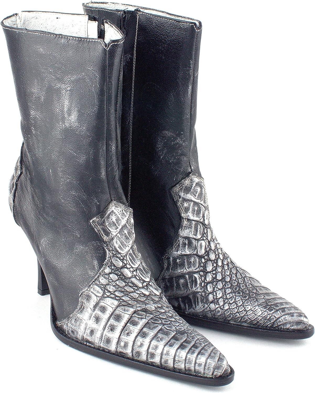 Los Altos stövlar Kvinnor Luxury Caiman läder läder läder Dress Boot skor  bästa service