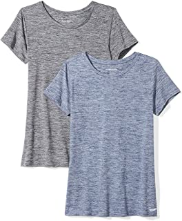 Women's 2-Pack Tech Stretch Short-Sleeve Crewneck T-Shirt