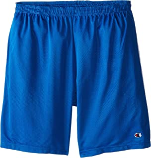 Champion Men's Big-Tall Mesh Short with Piping