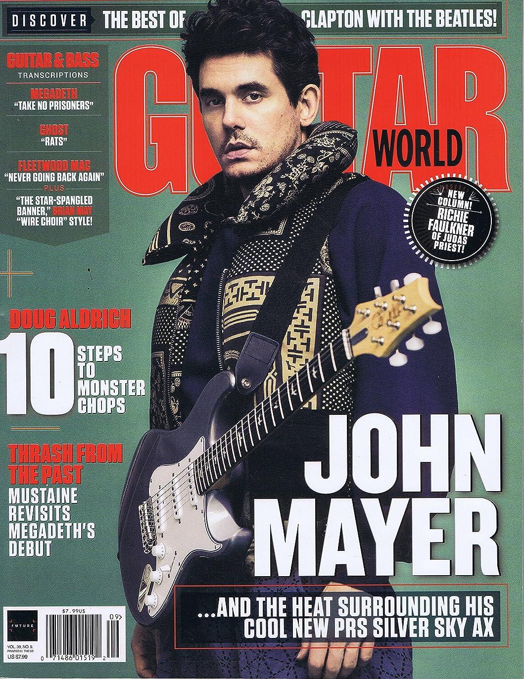 主要なシーサイド十年Guitar World [US] September 2018 (単号)