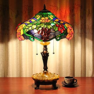 Gweat Mesa Tiffany Lámpara Amazon De esLamparas KcFlT1J