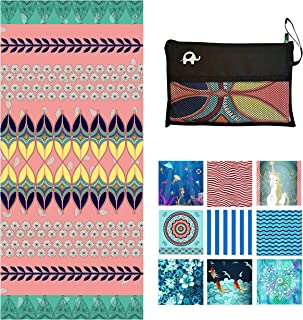 Microfiber Beach Towel for Travel - Oversized XL 78x35,72x72,63x31,71x31Inch Quick Drying, Lightweight, Fast Dry Towels, S...