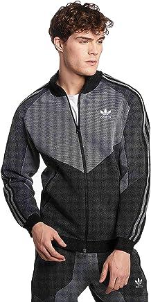 Adidas Men's Windbreaker Jacket Plgn, Men, CW5108, Black Grey