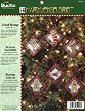Bucilla Mary Engelbreit - Good Tidings - Counted Cross Stitch Ornament Kit 85024