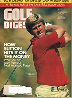 Golf Digest Magazine. Volume 35, No. 1 January 1984