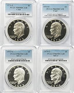 1974 silver dollar no mint mark