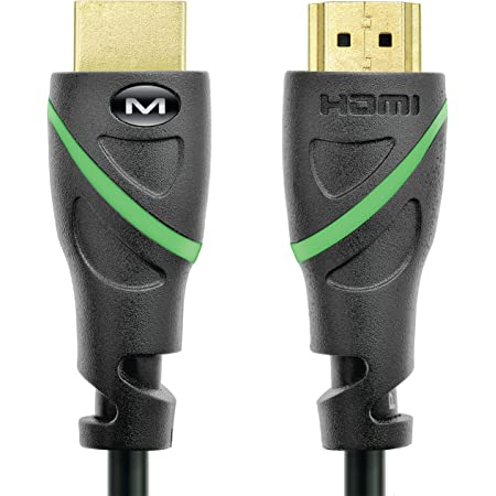 Mediabridge Flex Series HDMI Cable (3 Feet) Supports 4K@50/60Hz, High Speed, Hand-Tested, HDMI 2.0 Ready - UHD, 18Gbps, Audio Return Channel