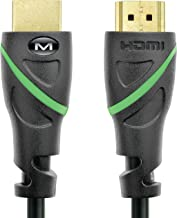Mediabridge Flex Series HDMI Cable (6 Feet) Supports 4K@50/60Hz, High Speed, Hand-Tested, HDMI 2.0 Ready - UHD, 18Gbps, Audio Return Channel
