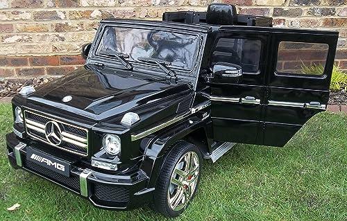 Envío rápido y el mejor servicio MERCEDES G63 12V, MANDO CONTROL PARENTAL , negro negro negro  mejor calidad
