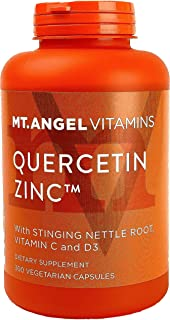 Quercetin Zinc Immune Support Supplement – with Vitamins C & D3, Stinging Nettle Root, Bromelain – Immune Boost to Fight F...