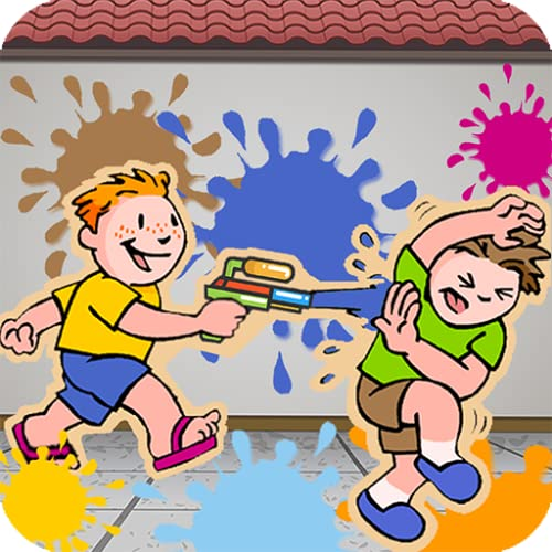 Crianças Paint Shooting Fun