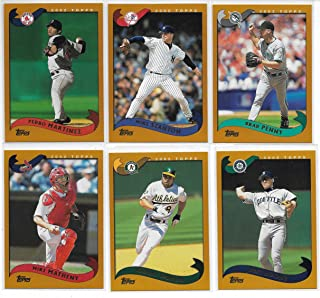 2002 Topps Baseball Complete 718 Card Hand Collated Set In Penny Sleeves