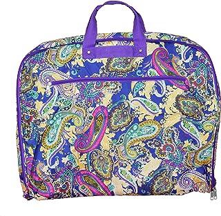 World Traveler World Traveler 40-inch Hanging Garment Bag - Blue Multi Paisley, Blue Multi Paisley (Blue) - 81GM40-183