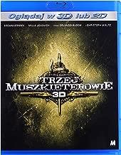 The Three Musketeers [Blu-Ray]+[Blu-Ray 3D] (English audio)