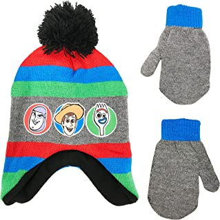 Toy Story Toddler Boys Winter Hat and Mittens Set, Age 2-4