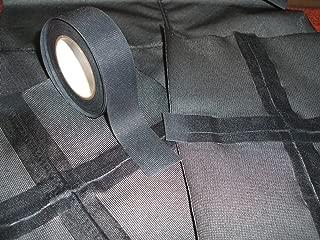 Seam Sealing Tape T-2000X – Hot Melt 3-Layer Waterproof – Iron On (Black, 22mm Width)