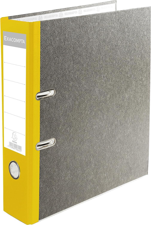 Exacompta Prem'Touch Lever Nashville-Davidson Mall Arch File A4 Spine 80 Yellow S mm - online shop