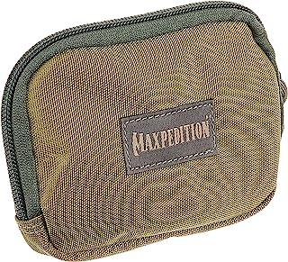 Maxpedition 3 x 5-inch Hook and Loop Zipper Pocket (Khaki-Foliage)