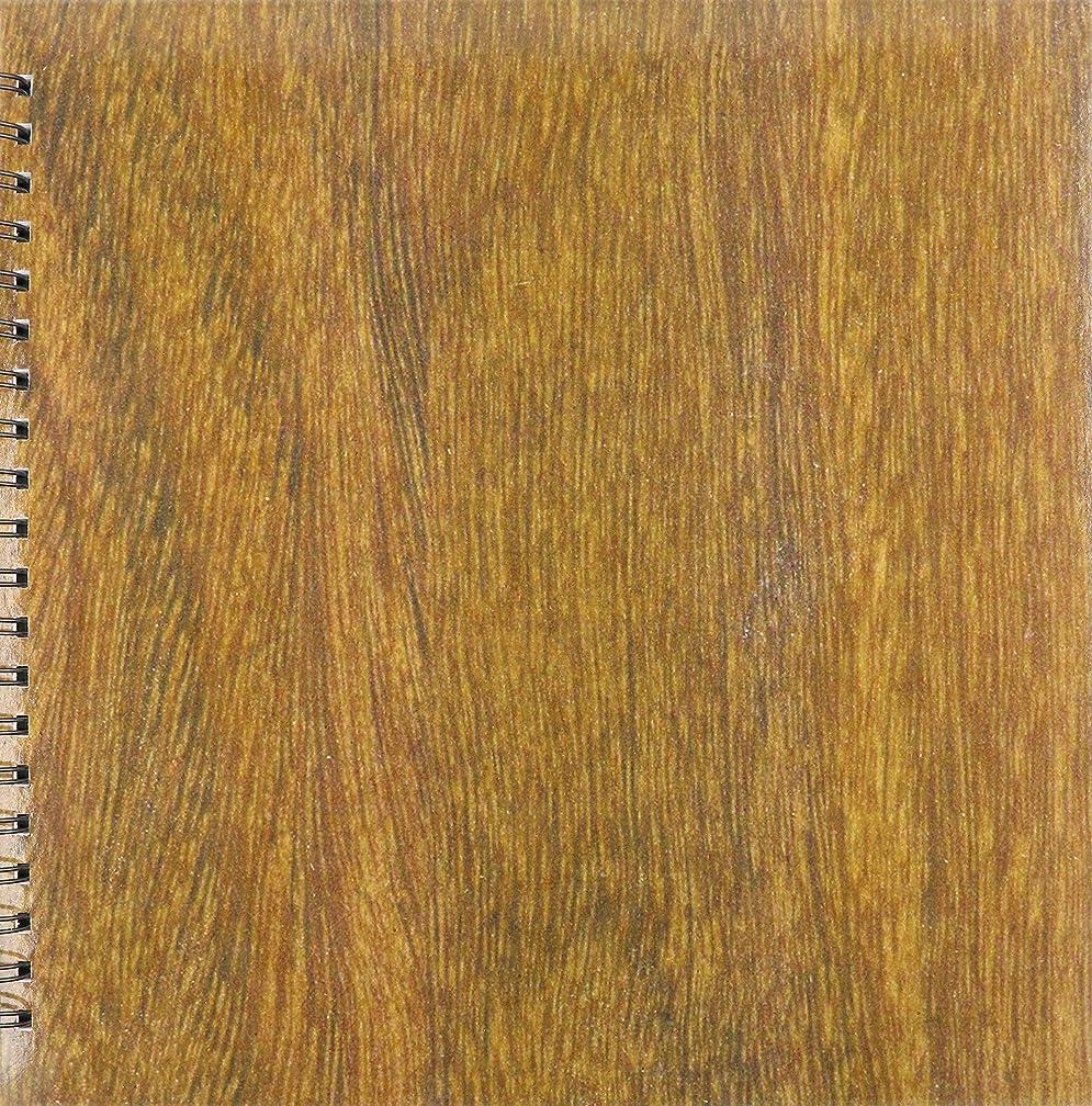3dRose db_41630_2 Teak Wood-Memory Book, 12 by 12-Inch